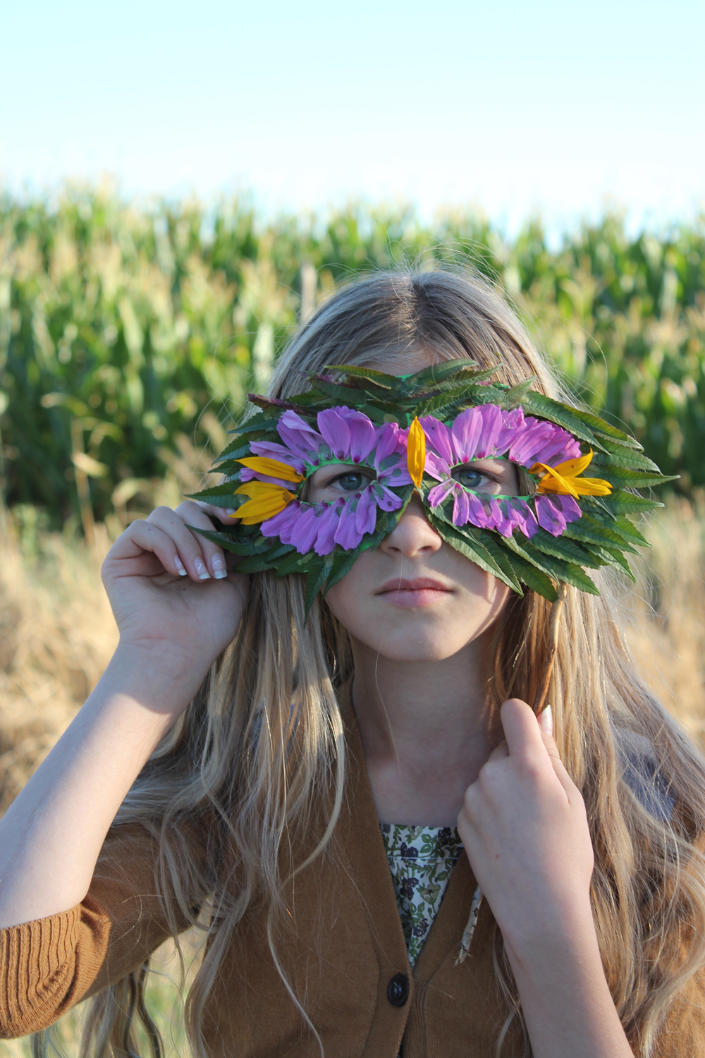 Nature mask DIY Priceless Halloween Masks Ideas For Your Kids To Boost The Party Spirit