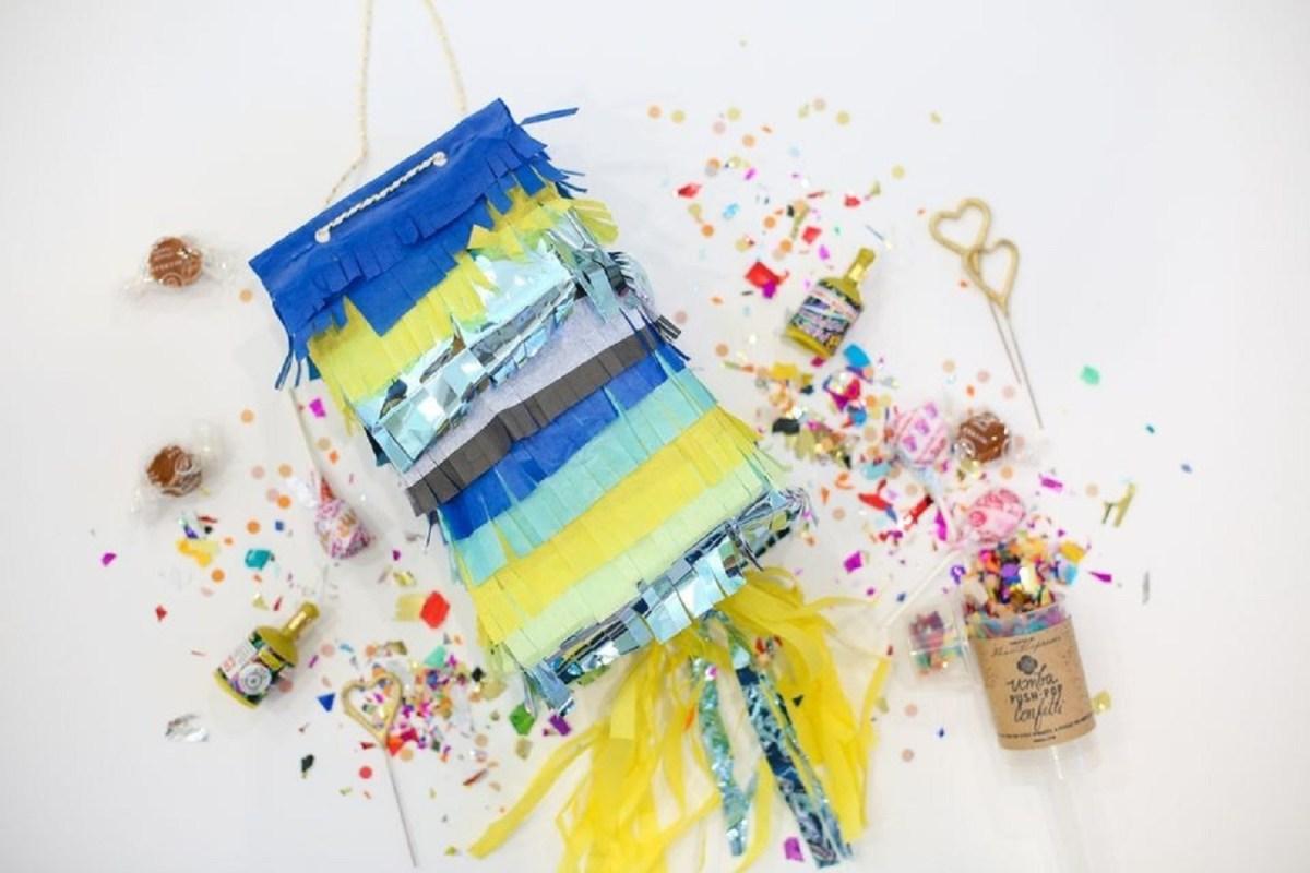 Paper bag pinata DIY Pinatas For Every Kind Of Party You Can Make At Home