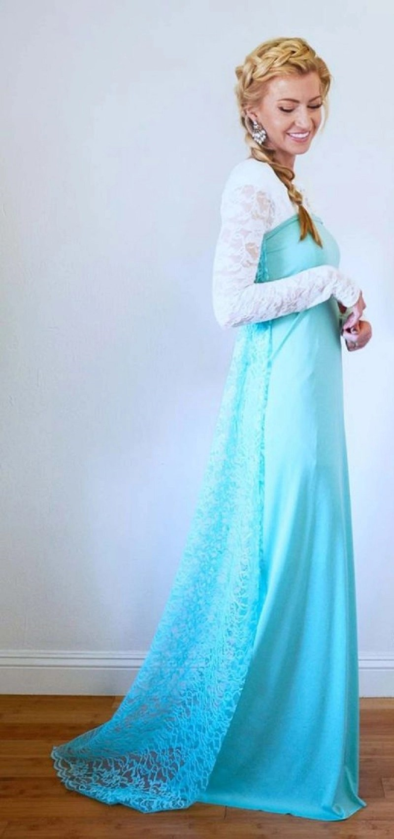 Diy elsa costume for adults DIY Prettiest Princess Costume Ideas To Shine In Your Halloween Celebration