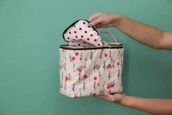 Diy fabric lunch box with insulting Spectacular DIY Launch Box Ideas That Is Lovely For Kids And Adults