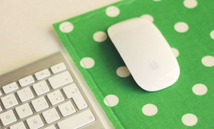 Easy diy fabric mousepad DIY Never Boring Mouse Pad Ideas With Simple Materials