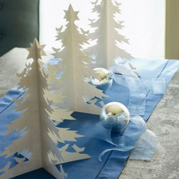 Diy cool winter trees