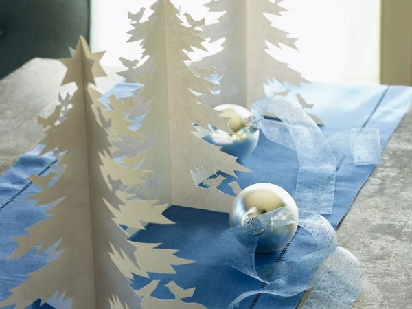 Diy cool winter trees