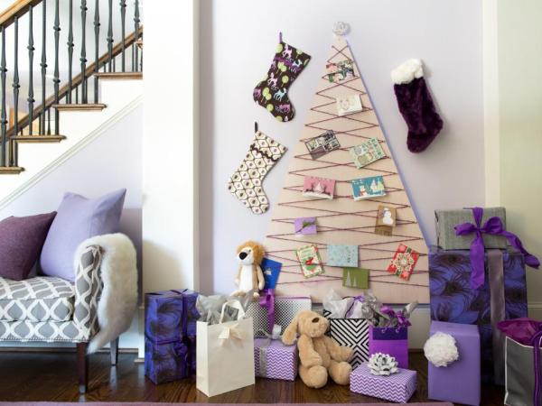 Diy gorgeous alternative christmas trees that will spruce up your house