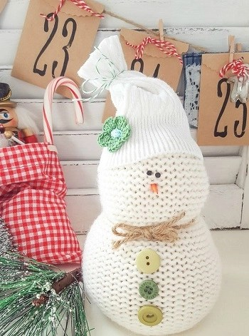 Diy sweater snowman DIY Snowman Decoration Ideas To Serve Magic In Every Corner Of Your Home