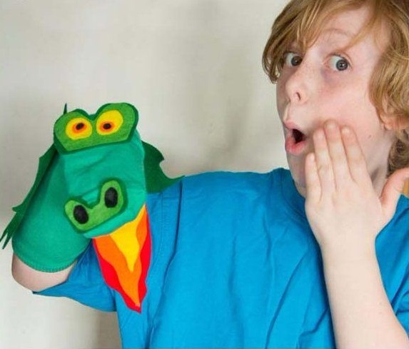 No sew dragon sock puppet DIY Easy To Copy Christmas Gift Ideas For Your Kids That Also Affordable