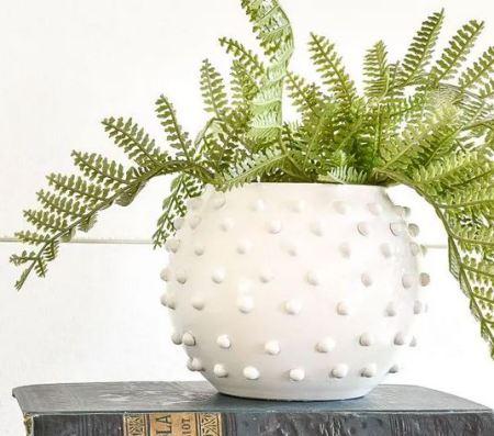 Awesome white vase