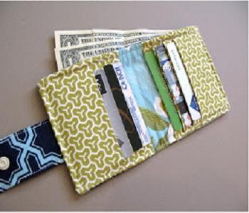 Bi-fold wallet Super Girls DIY Ideas To Create Unbelievable Chic Wallets