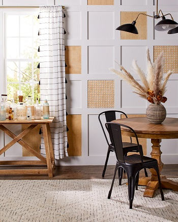 Cane wall panels Brilliant DIY Caning Project To Create Your Own Furniture