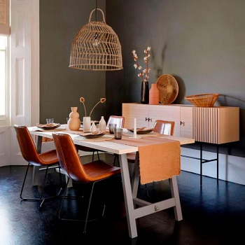 Create scale with lighting Restyle Your Home Interiors On A Budget With Decor Hack Ideas