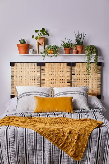 Diy cane headboard -Brilliant DIY Caning Project To Create Your Own Furniture