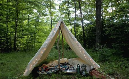 Diy canvas play tent