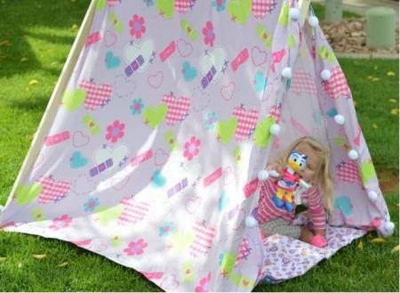 Diy cute tent for kids