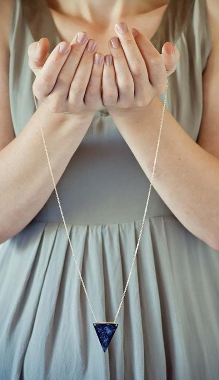 Diy mind-blowing galaxy necklace