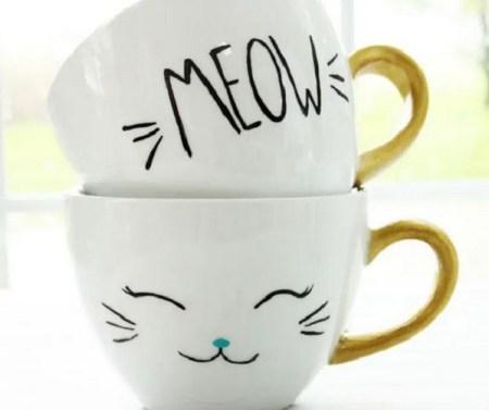 Diy mug cat