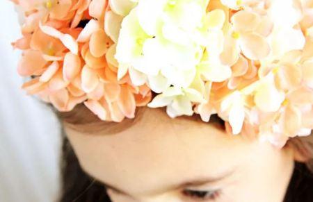 Kids flower crown