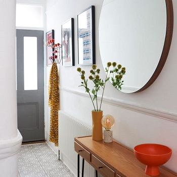 Mix up shapes Restyle Your Home Interiors On A Budget With Decor Hack Ideas