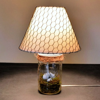 DIY Lamp With Mason Jar Ideas To Look Cozy And Warm