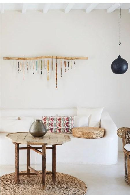 Diy beaded wall hanging