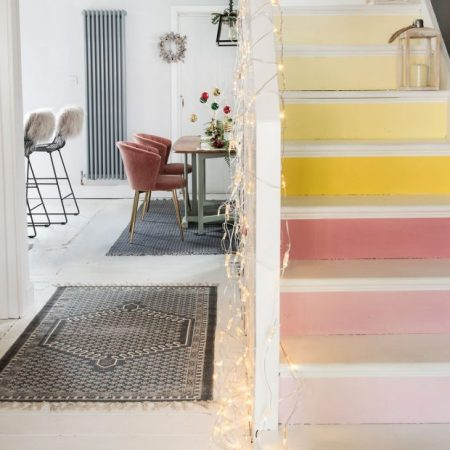 Diy paint the stairs