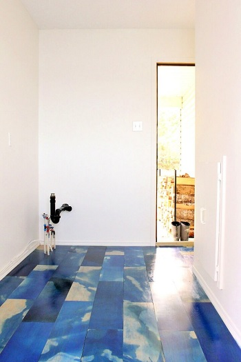 Marbled diy plywood flooring DIY Low Cost Plywood Flooring Ideas To Save Your Bank