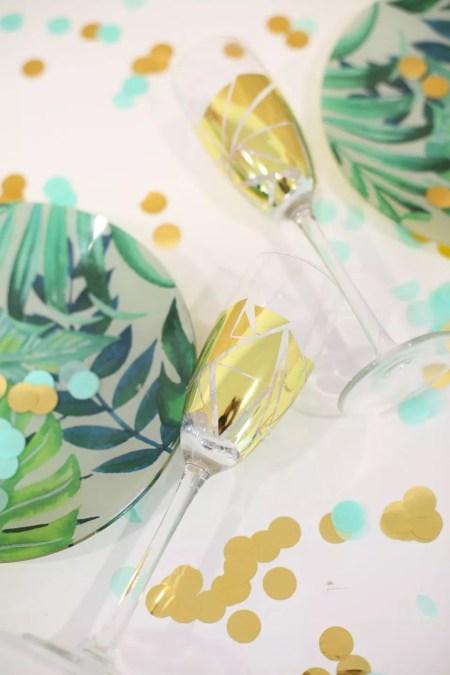 More festive glass