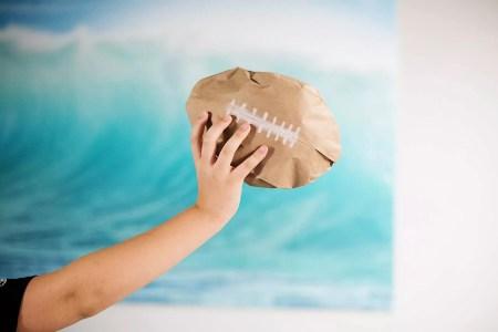Paper bag ball