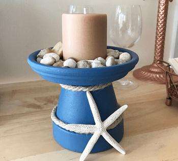 Coastal pot DIY Long-lasting Decoration Ideas With Coastal Home Accessories