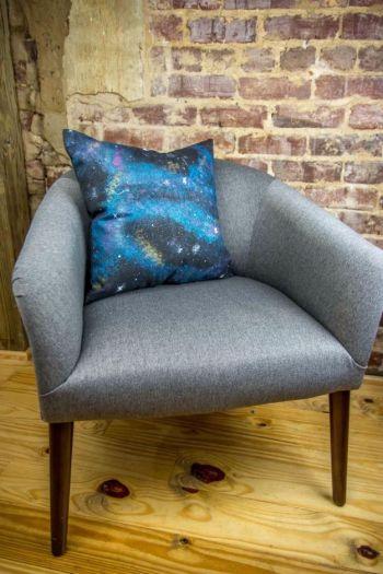 Diy galaxy throw pillow