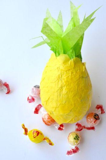 Diy pineapple craft for summer