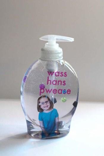 Fun diy soap dispenser