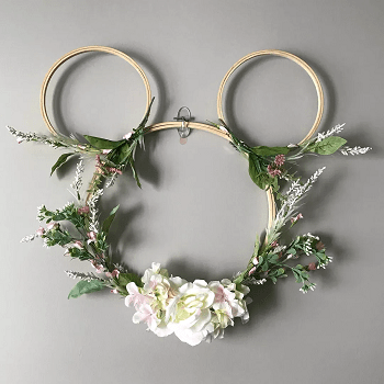 Micky hoop wreath DIY Disney Nursery Theme Ideas To Have Most Magical Place At Home