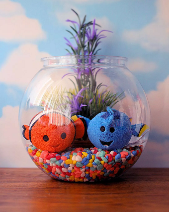 Nemo fish bowl DIY Disney Nursery Theme Ideas To Have Most Magical Place At Home