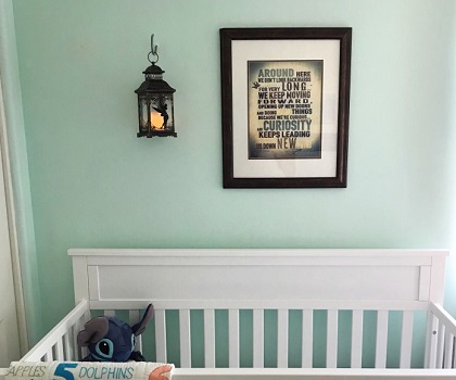 Tinkerbell lantern DIY Disney Nursery Theme Ideas To Have Most Magical Place At Home