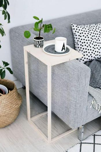 Arm sofa table for coffee