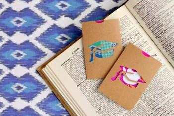 Diy easy graduation gift card holder