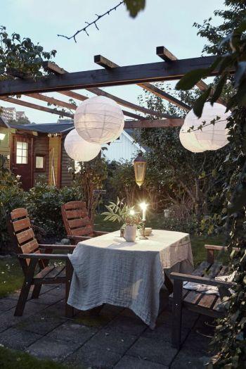 Diy hanging paper lanterns