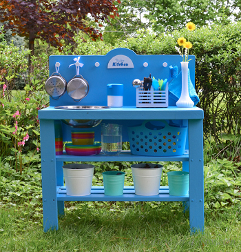 Diy outdoor play kitchen Selected-Unconventional DIY Play Kitchen Ideas To Keep Your Kids Busyfrom an old shelf