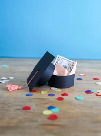 Diy tiny graduation gift