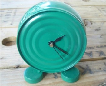 Diy tuna can clock