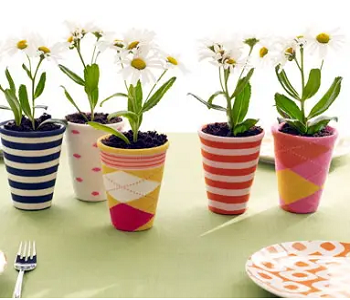 Potted plant covers DIY Dazzling Ways To Reuse Old Mismatched Socks