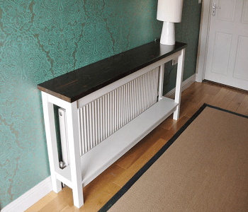 Quick cover DIY Stylish Radiator Covers To Keep Your Home Pretty
