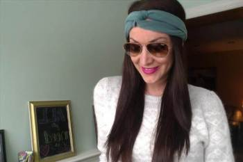 Turban headband diy