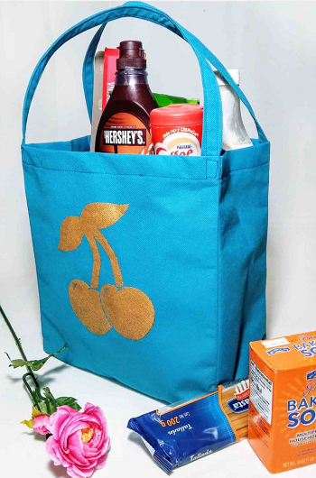 Free reusable grocery bag sewing pattern DIY Fancy Reusable Grocery Bags Ideas To Show Your High Style