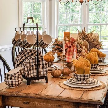 Gorgeous home decor with mustard touches to feel warm during this fall 3.1