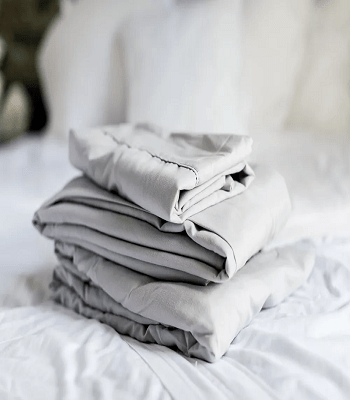 Wash the bed sheets How To Bring Fresh Till The End For Your Bedroom