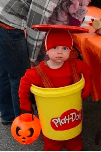 Play-doh costume Speechless DIY Ideas For Repurposing Five Gallon Buckets