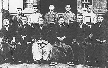 Kano and other martial artists