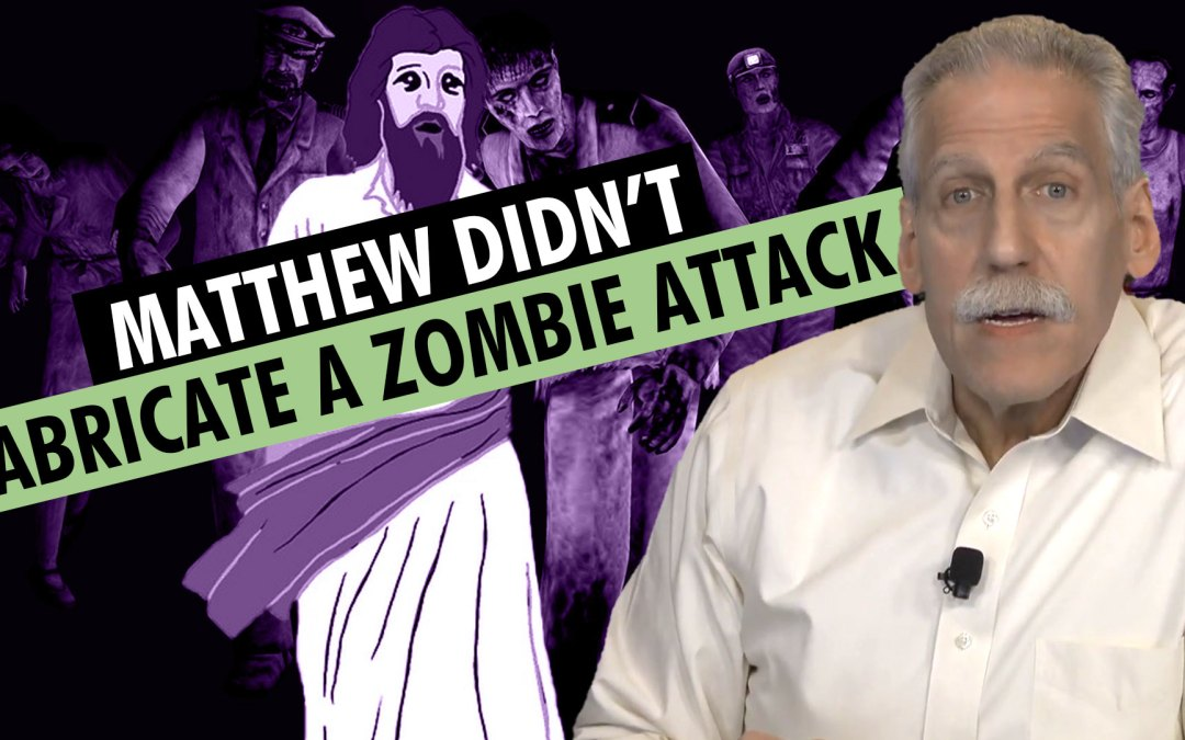 Matthew Couldn't Have Fabricated A Zombie Attack