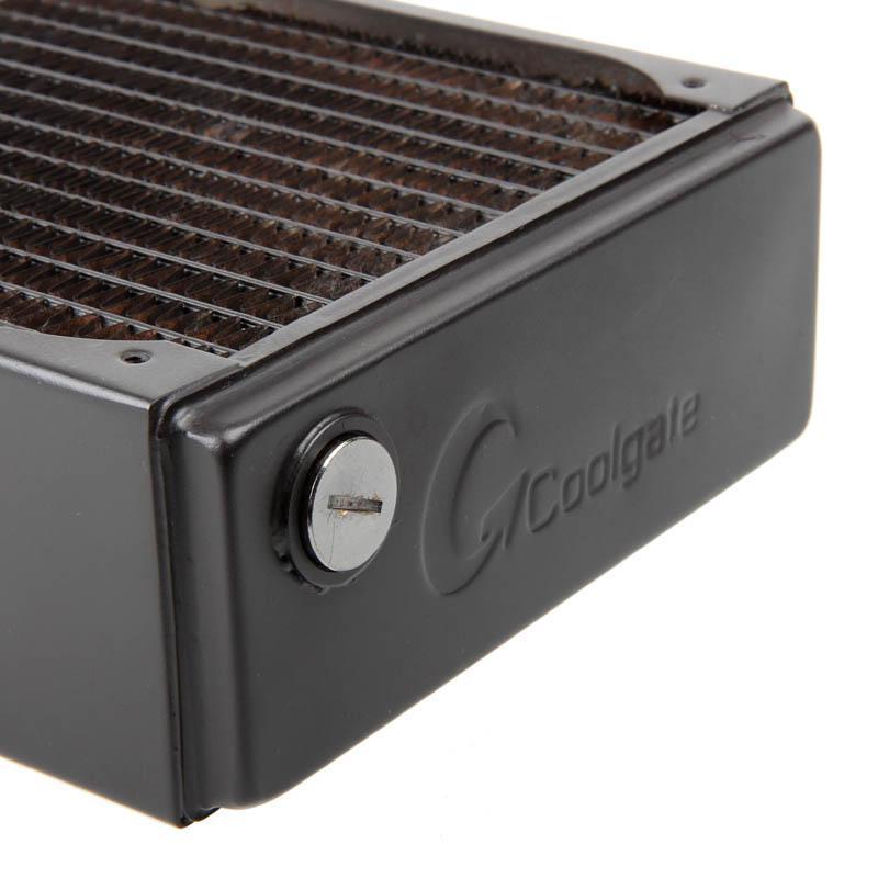coolgate cg280 280mm radiatore nero